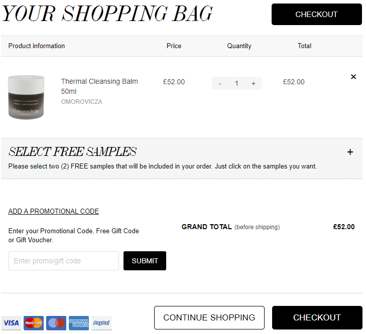 cult beauty free shipping first order