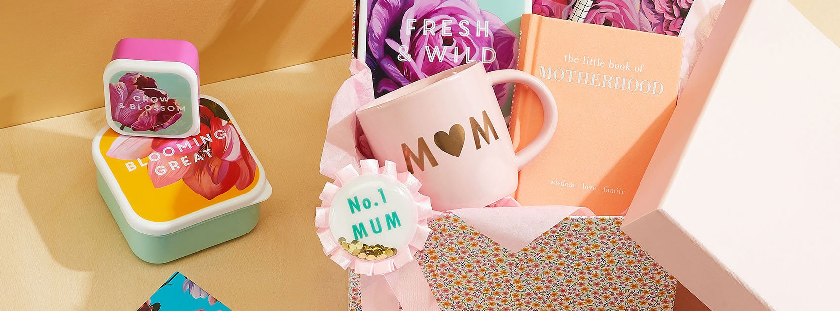 Range of Paperchase Mother's Day gifts