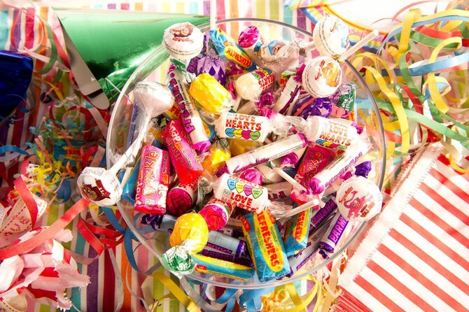 Selection of Swizzels sweets for Mother's Day 2021